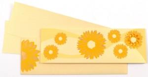 Flower theme card