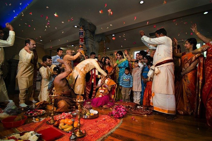 Hindu Temple Wedding