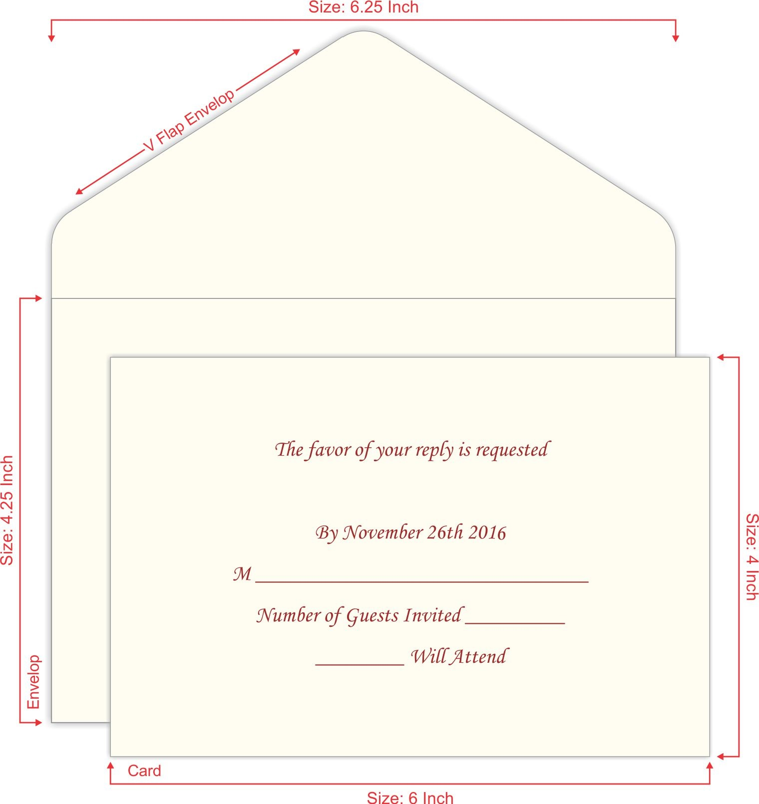 Scroll wedding invitations one stop wedding invitations shop for Rsvp stand for on an invitation